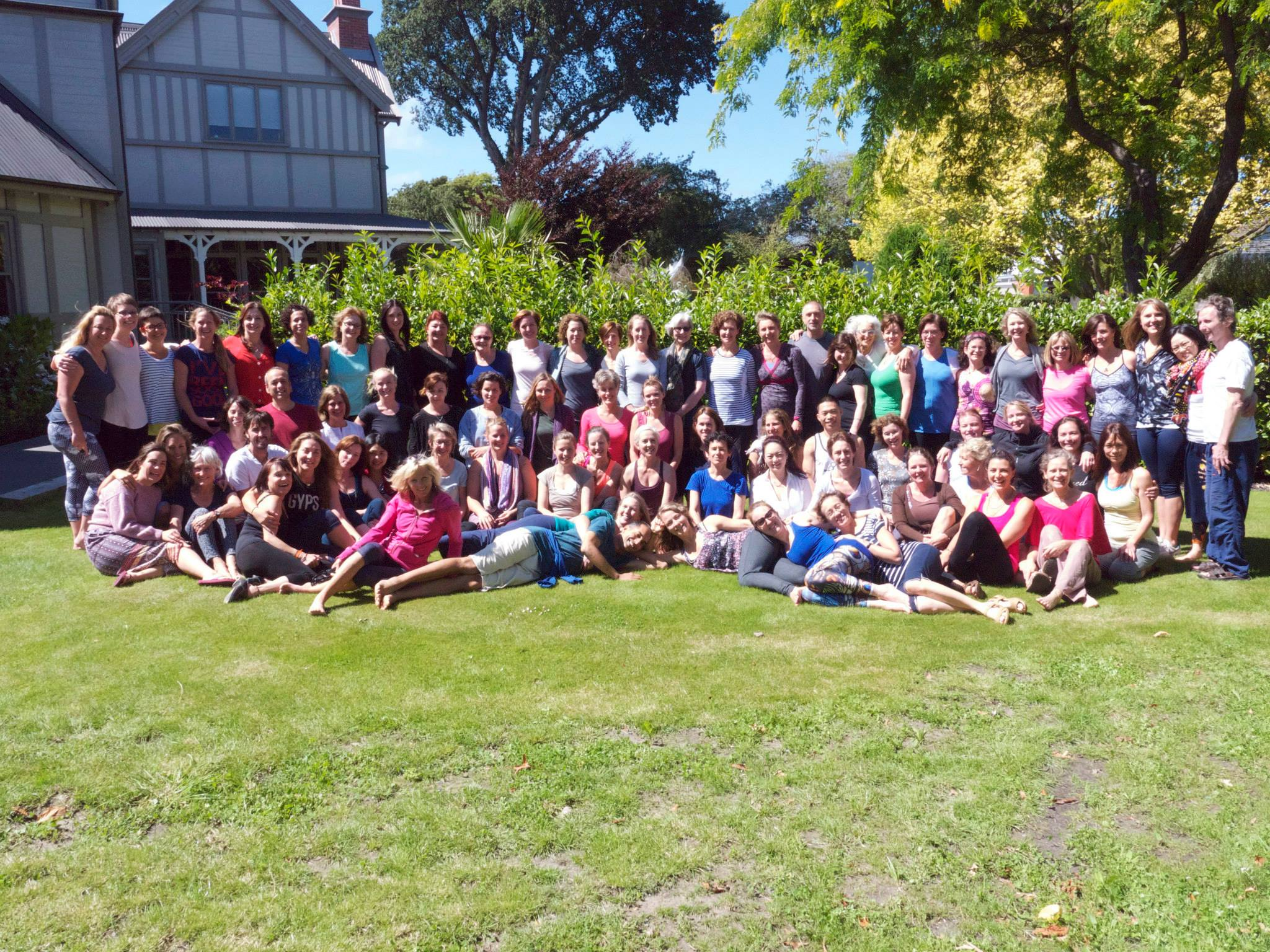 I served as an Assistant Teacher at Donna Farhi's intensive training, New Zealand. January 2015.